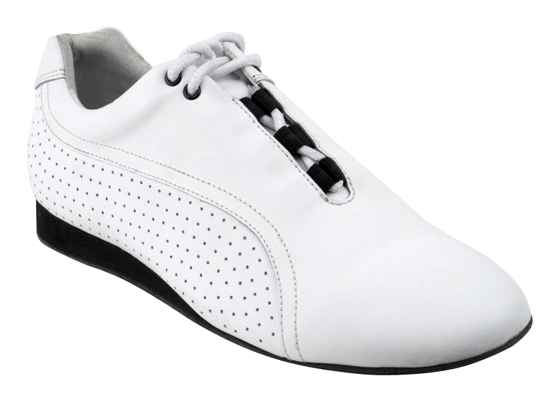 Ladies's Salsa (Street Style) - Very Fine Salsero (unisex) - SERO-101 - White Leather