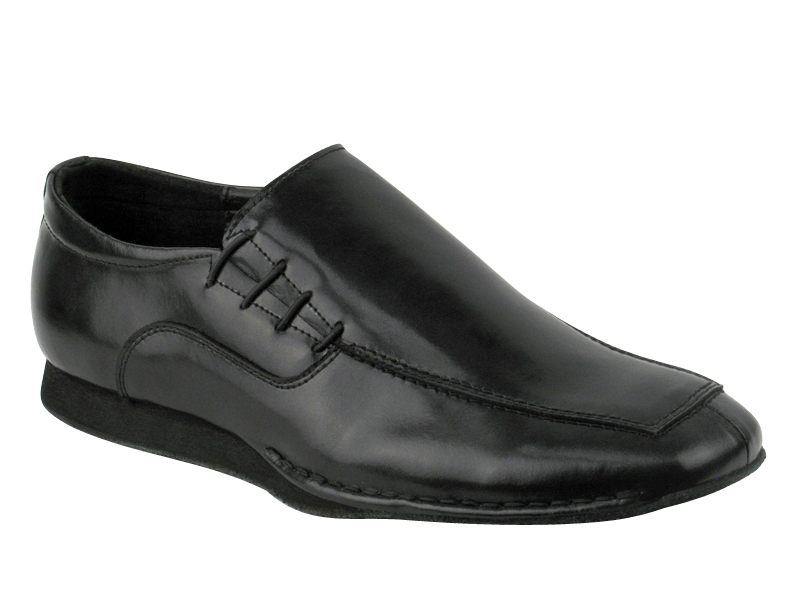 Men's Salsa (Street Style) - Very Fine Salsero - SERO-102 - Black Leather