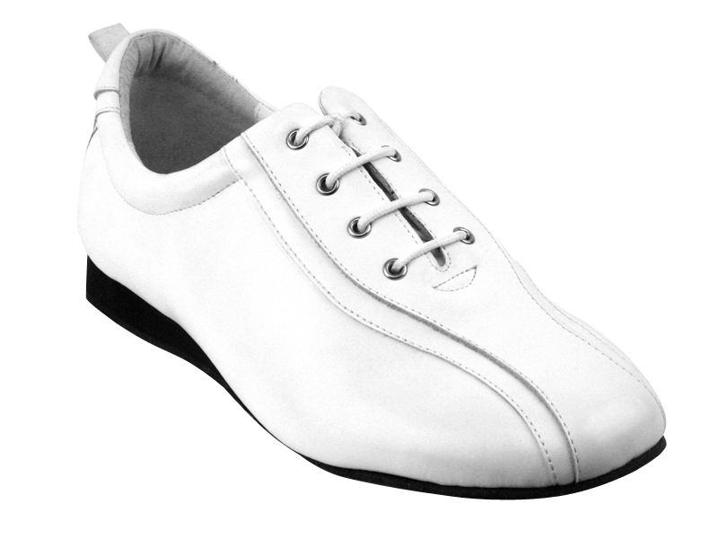 Ladies's Salsa (Street Style) - Very Fine Salsero (unisex) - SERO-103 - White Leather