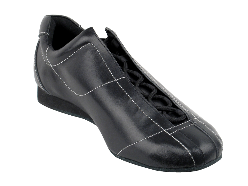 Ladies's Salsa (Street Style) - Very Fine Salsero (unisex) - SERO-105 - Black Leather