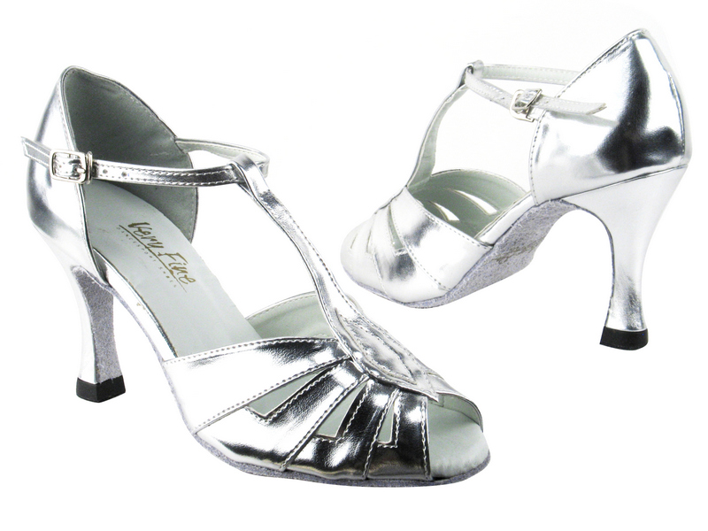 2702 55 Silver Leather