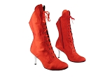 3301Boot 112 Red Satin