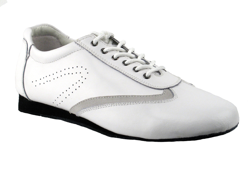 Ladies's Salsa (Street Style) - Very Fine Salsero (unisex) - SERO-104 - White Leather