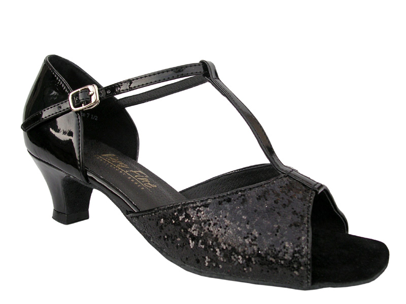 Ladies' Practice & Cuban heel - Very Fine Classic - 5004 - Black Sparkle