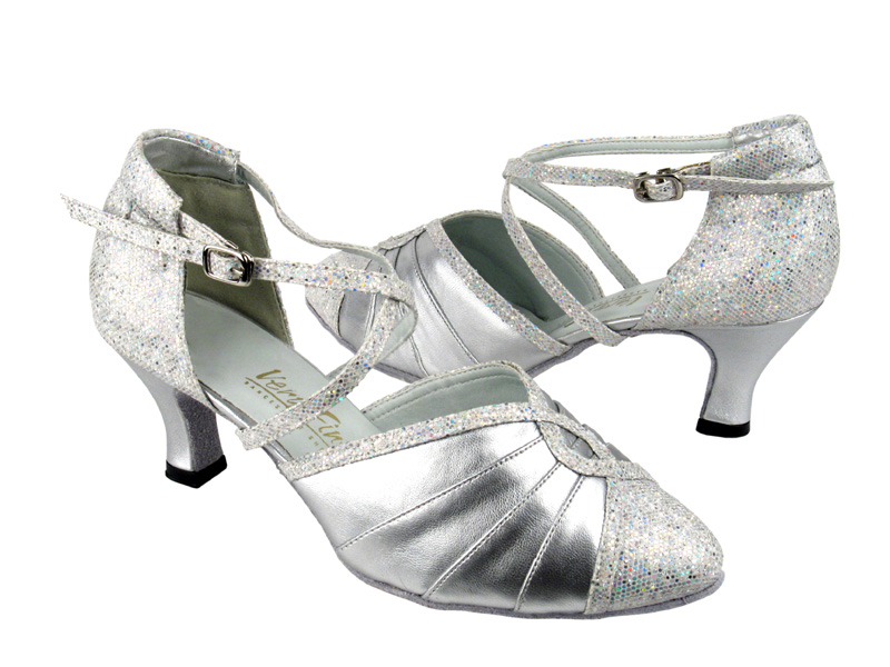 Ladies' Standard & Smooth - Very Fine Classic   - 6825B - Silver Leather & Silver Scale