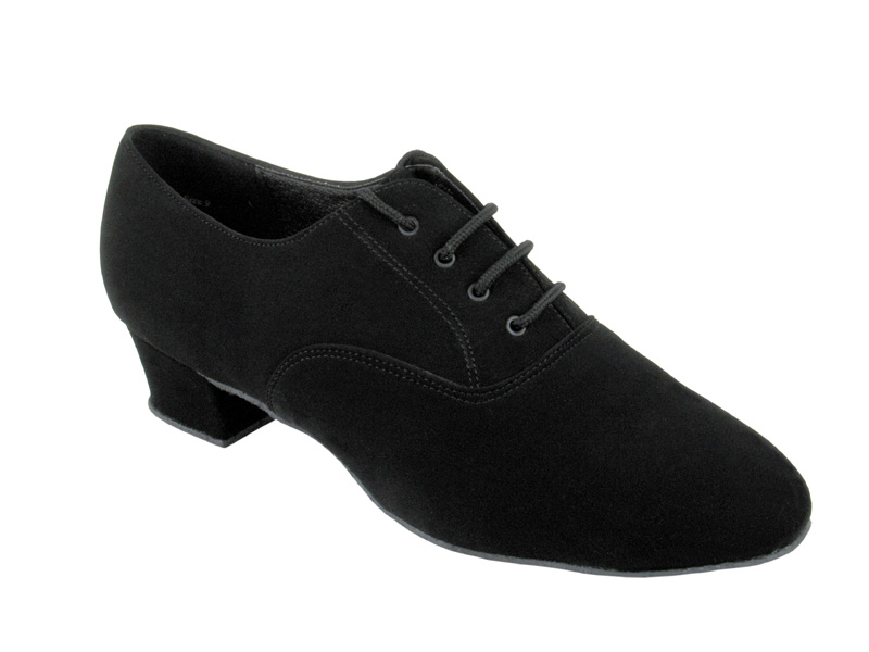 Men's Latin & Rhythm - Very Fine Classic - 915108 - Black Nubuck