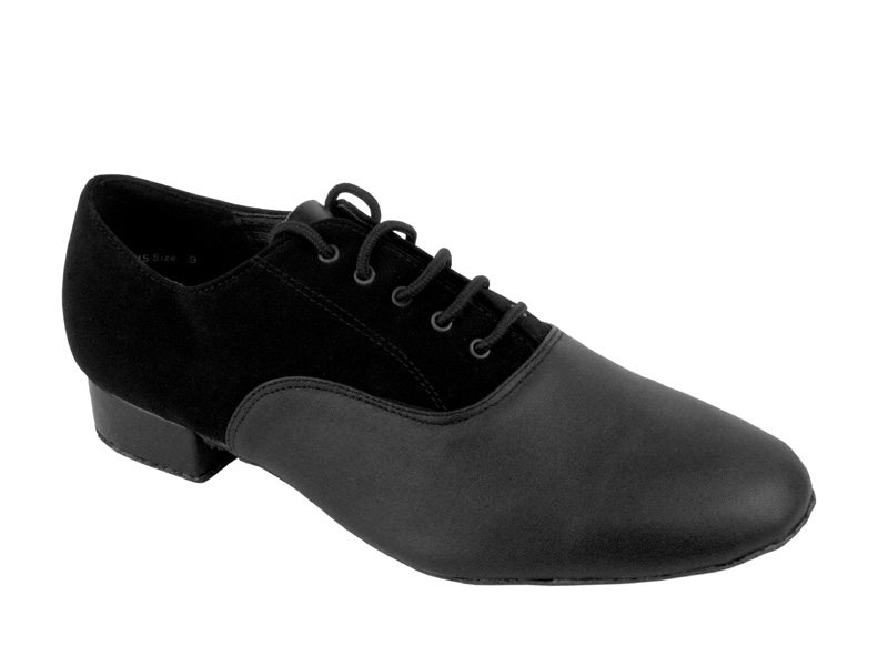 Men's Standard & Smooth - Very Fine Classic - 919101 - Black Nubuck & Black Leather