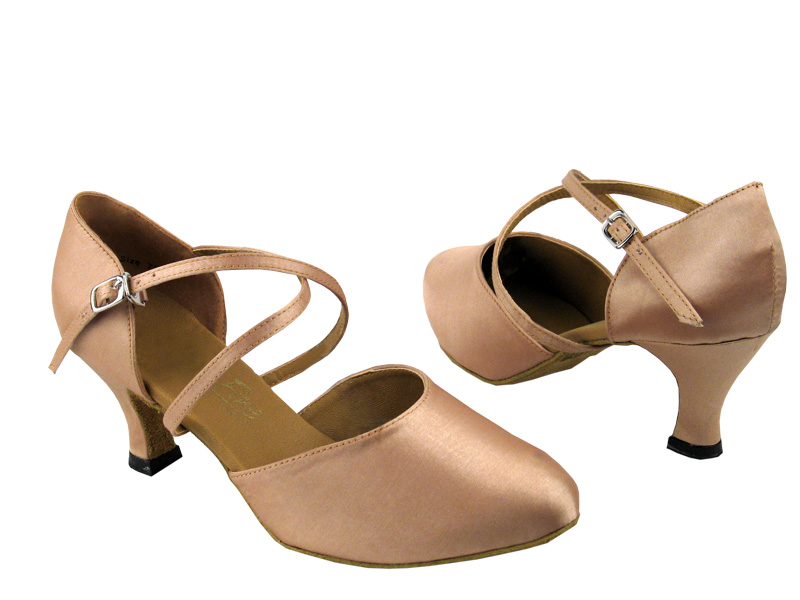Ladies' Standard & Smooth - Very Fine Classic   - 9691 - Light Brown Satin