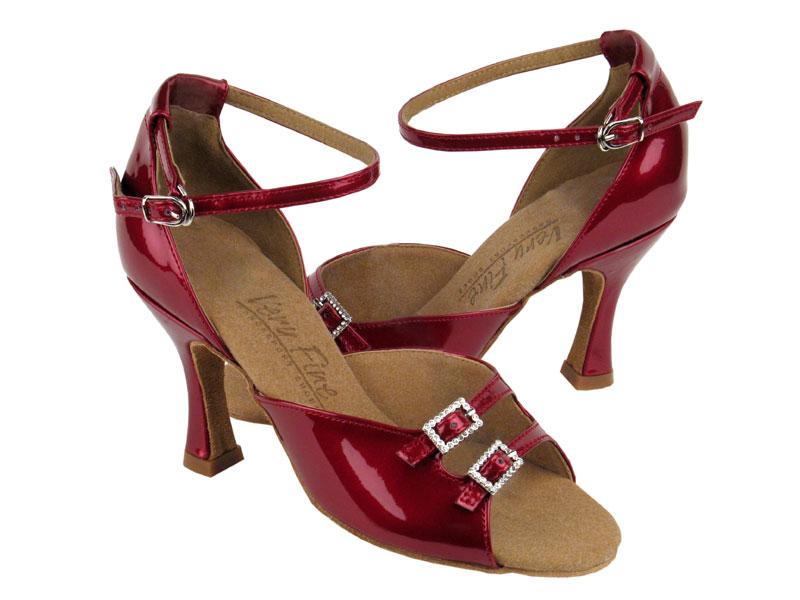 Ladies' Latin, Rhythm & Salsa - Very Fine C Series - C1620 - Red Patent