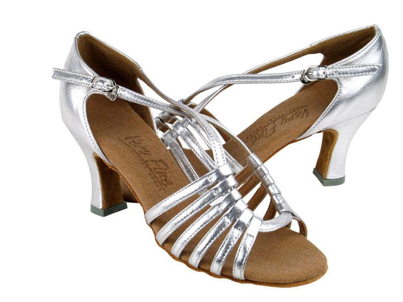 Ladies' Latin, Rhythm & Salsa - Very Fine C Series - C1661 - Silver Leather