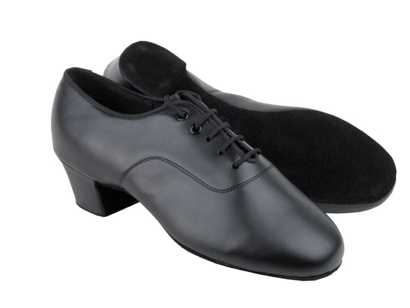 Men's Latin & Rhythm - Very Fine C Series - C2301 - Black Leather
