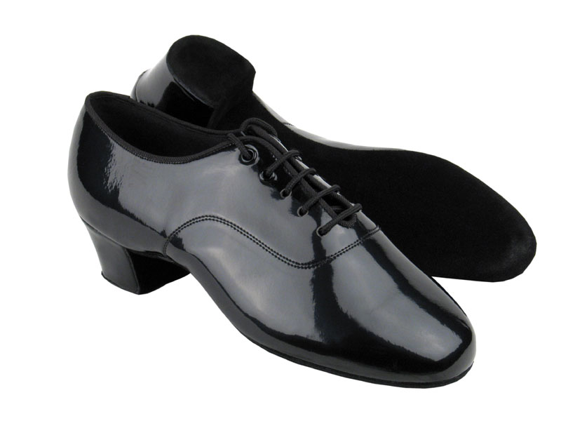 Men's Latin & Rhythm - Very Fine C Series - C2301 - Black Patent