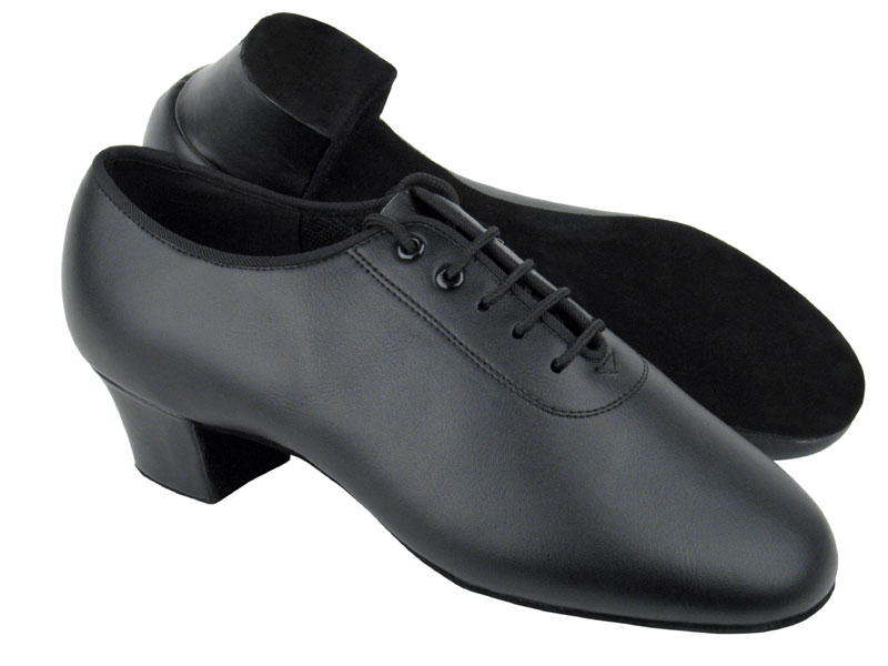 Men's Latin & Rhythm - Very Fine C Series - C2302 - Black Leather