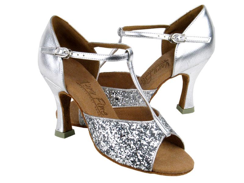 Ladies' Latin, Rhythm & Salsa - Very Fine C Series - C5004 - Silver Sparkle