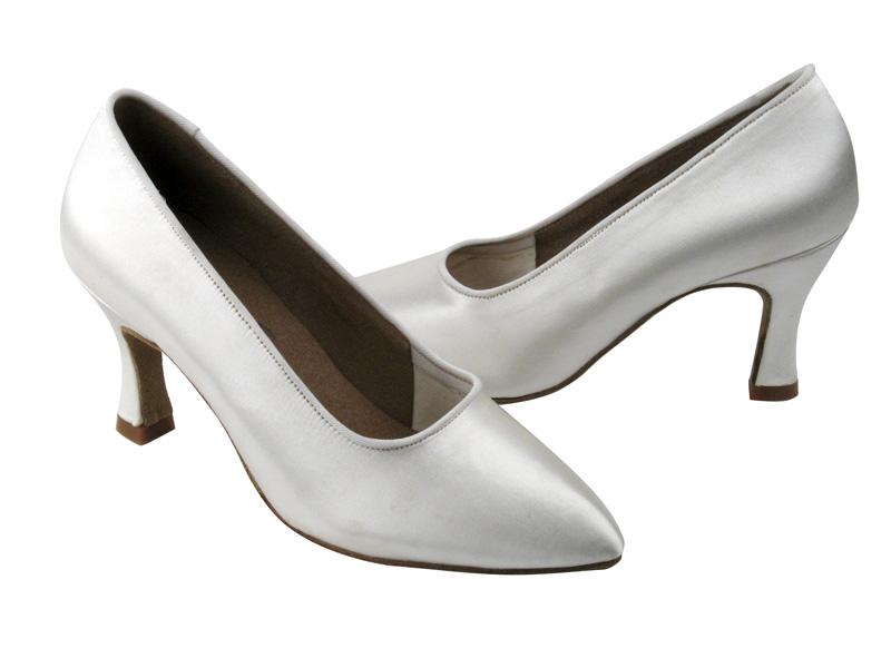 Ladies' Standard & Smooth - Very Fine C Series - C6901 - White Satin