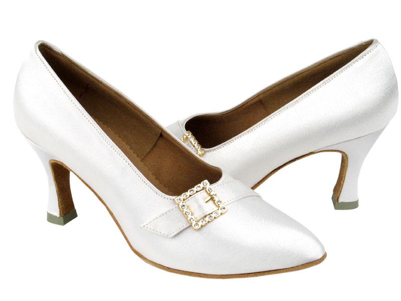 Ladies' Standard & Smooth - Very Fine C Series - C6904 - White Satin
