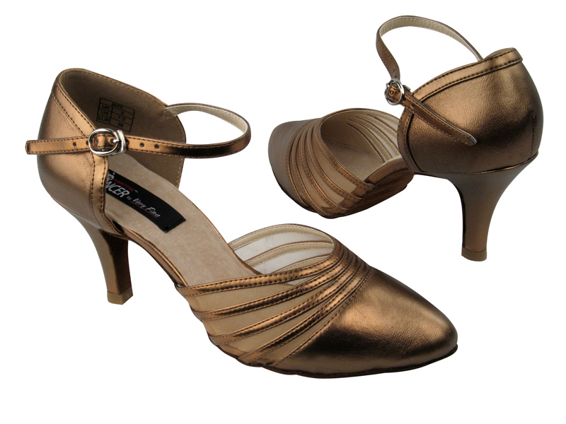 Ladies' Standard & Smooth - VF Competitive Dancer - CD6033 - Copper Nude Leather