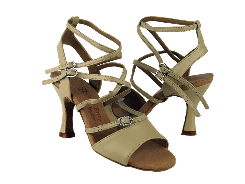 Ladies' Latin, Rhythm & Salsa - Very Fine Party Party - PP202 - Beige Leather