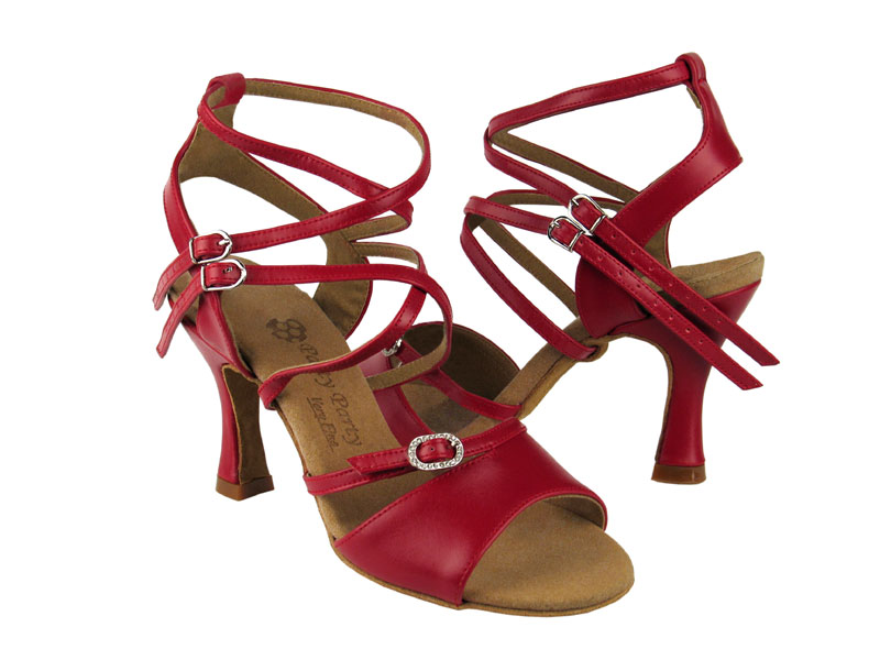 Ladies' Latin, Rhythm & Salsa - Very Fine Party Party - PP202 - Red Leather