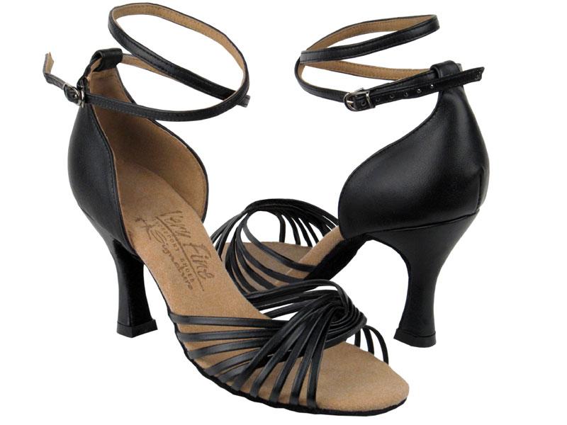 Ladies' Latin, Rhythm & Salsa - Very Fine Signature - S1001 - Black Leather