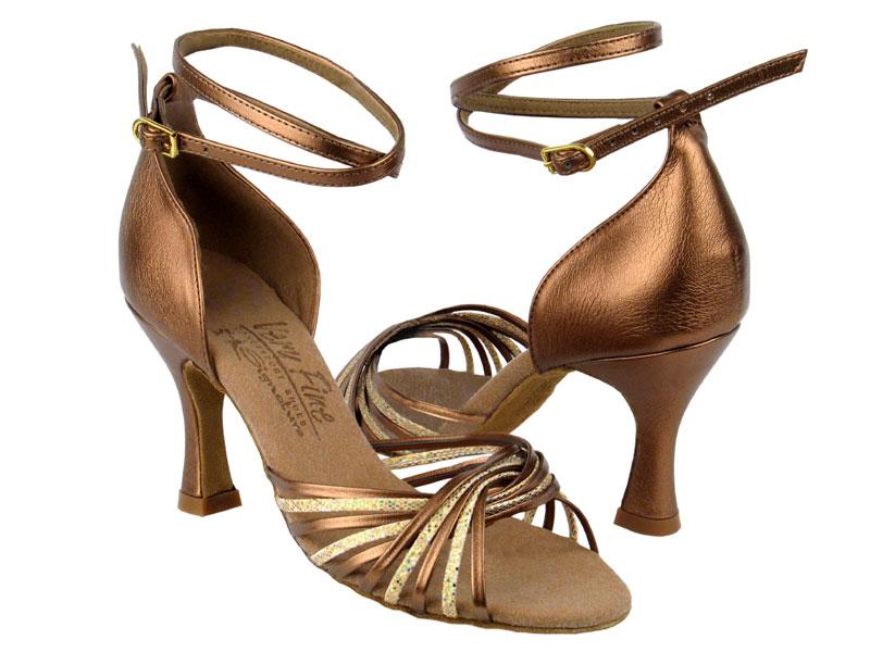 Ladies' Latin, Rhythm & Salsa - Very Fine Signature - S1001 - Gold Scale & Dark Tan Gold
