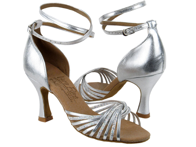 Ladies' Latin, Rhythm & Salsa - Very Fine Signature - S1001 - Silver Scale & Silver Leather