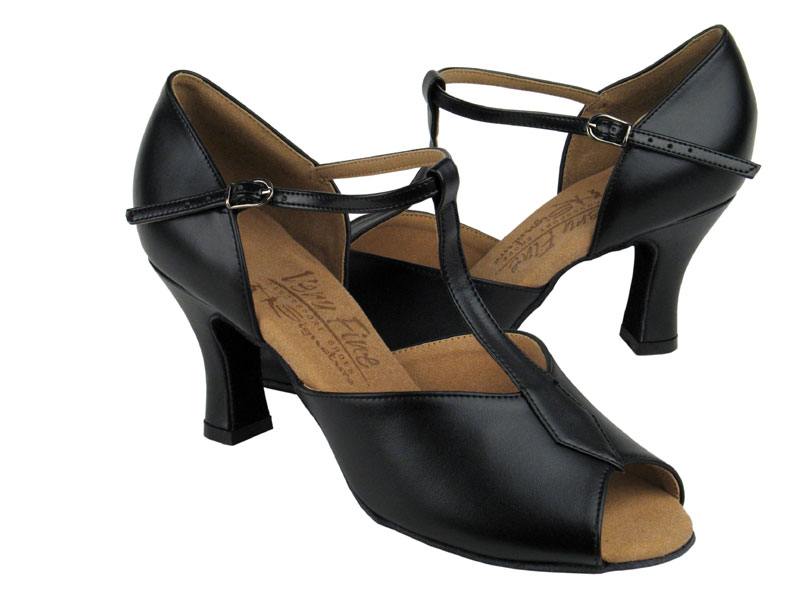 Ladies' Latin, Rhythm & Salsa - Very Fine Signature - S2802 - Black Leather