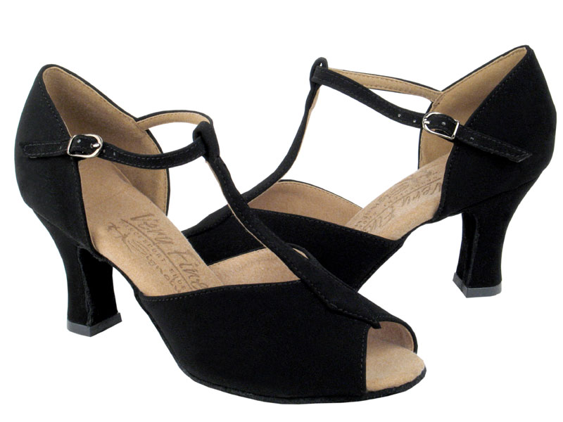 Ladies' Latin, Rhythm & Salsa - Very Fine Signature - S2802 - Black Nubuck