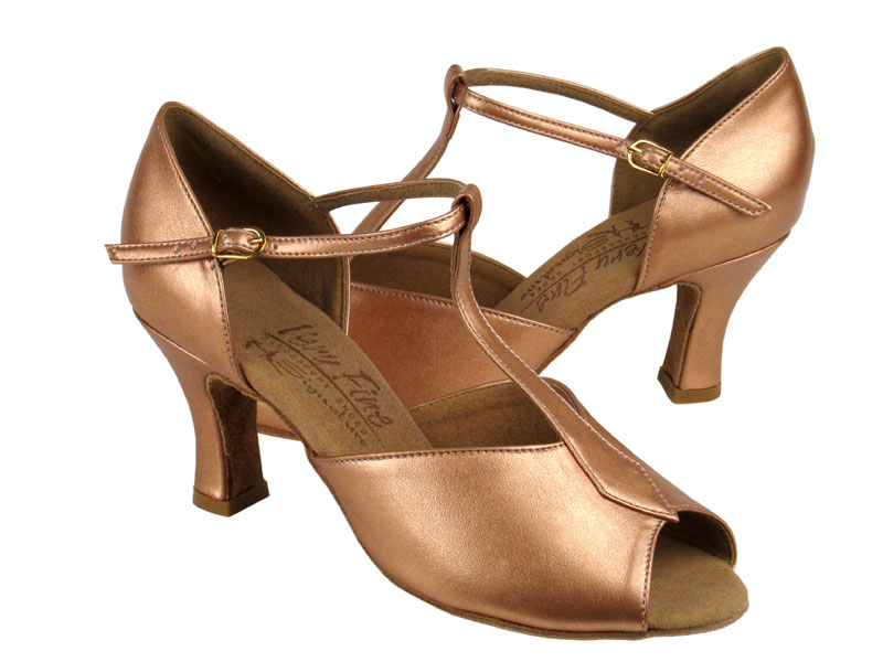 Ladies' Latin, Rhythm & Salsa - Very Fine Signature - S2802 - Copper Nude Leather