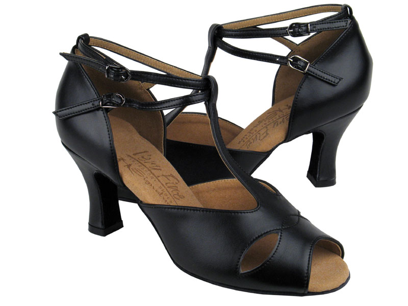 Ladies' Latin, Rhythm & Salsa - Very Fine Signature - S2803 - Black Leather