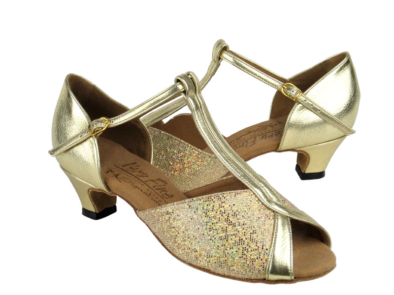 Ladies' Practice & Cuban heel - Very Fine Signature - S2804 - Gold Scale & Gold