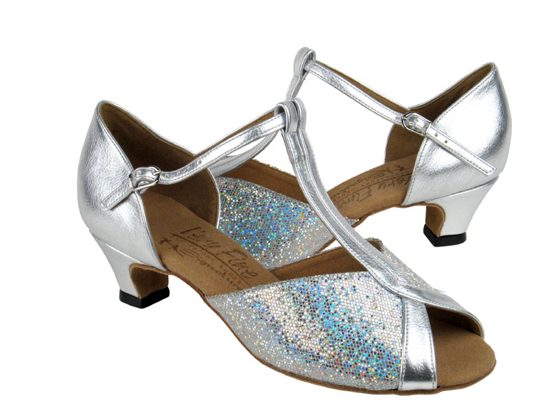 Ladies' Practice & Cuban heel - Very Fine Signature - S2804 - Silver Scale & Silver