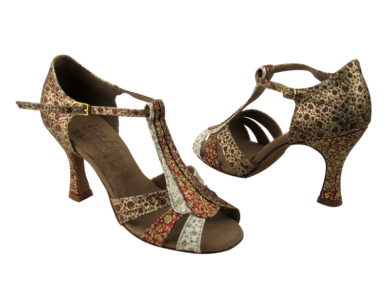Ladies' Latin, Rhythm & Salsa - Very Fine Signature - S2806 - Copper & Red & White