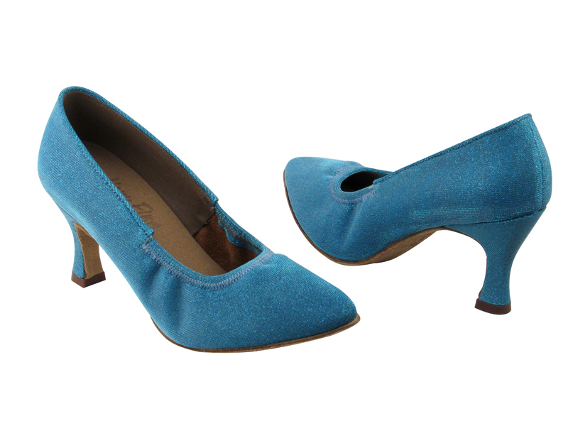 Ladies' Standard & Smooth - Very Fine Signature - S9107 - Glitter Blue Satin