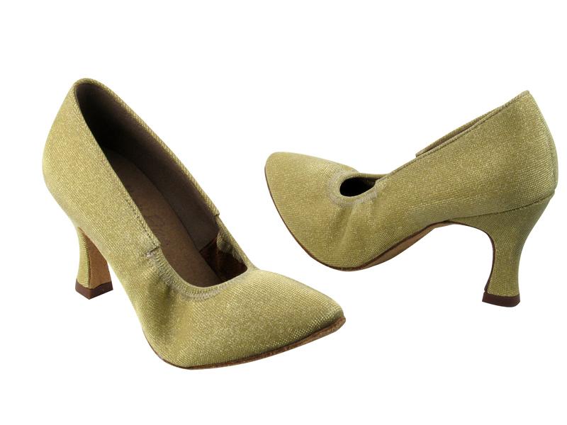 Ladies' Standard & Smooth - Very Fine Signature - S9107 - Glitter Gold Satin