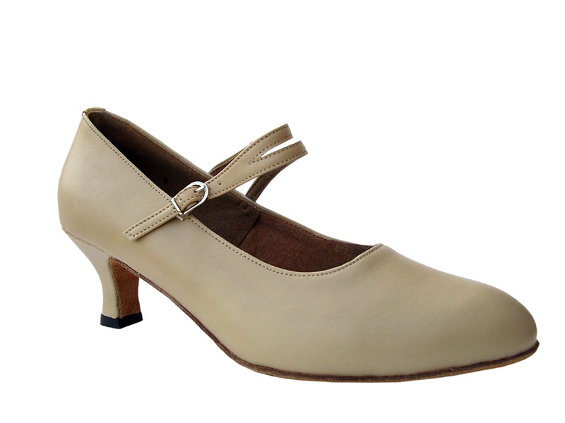 Ladies' Standard & Smooth - Very Fine Signature - S9119 - Beige Leather