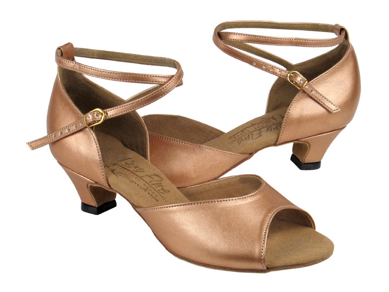 Ladies' Practice & Cuban heel - Very Fine Signature - S9220 - Copper Nude Leather