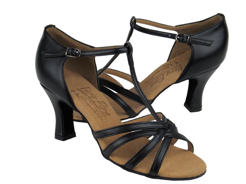 Ladies' Latin, Rhythm & Salsa - Very Fine Signature - S9235 - Black Leather