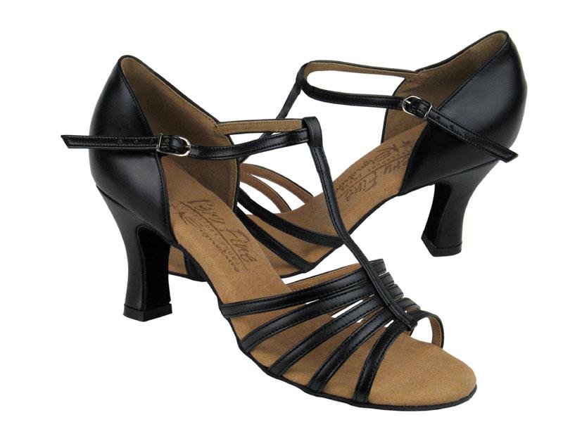 Ladies' Latin, Rhythm & Salsa - Very Fine Signature - S9273 - Black Leather