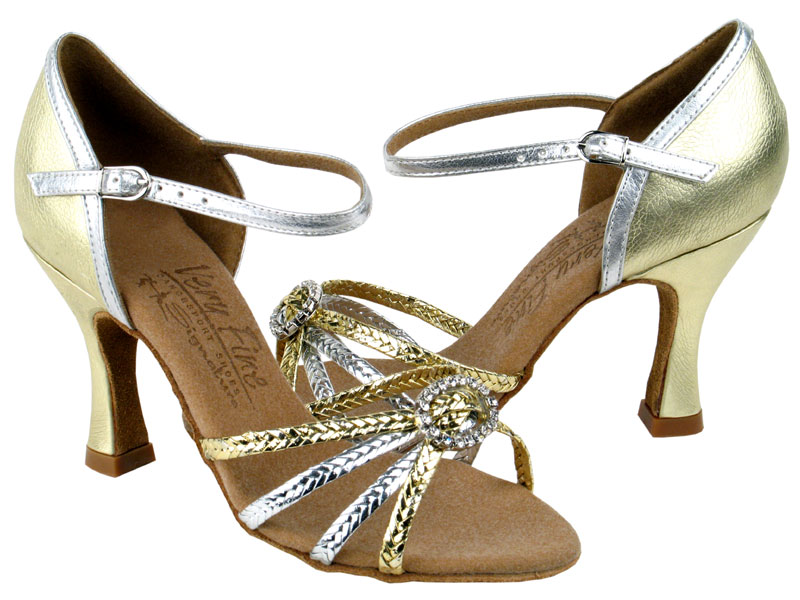 Ladies' Latin, Rhythm & Salsa - Very Fine Signature - S9282 - Gold & Silver Braid