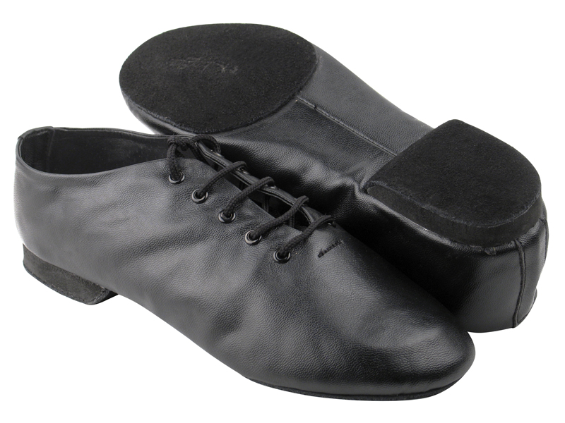 Ladies Jazz - Very Fine Salsera - SERA-Jazz01S - Black Leather