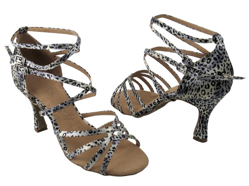 Ladies' Latin, Rhythm & Salsa - Very Fine Salsera - SERA5008 - Snow Leopard