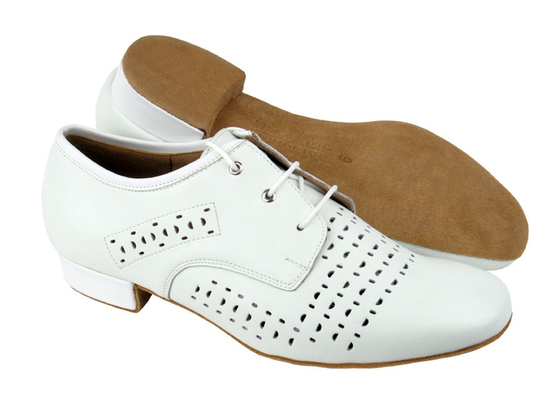 Men's Standard & Smooth - Very Fine Signature - ST38 - White Leather