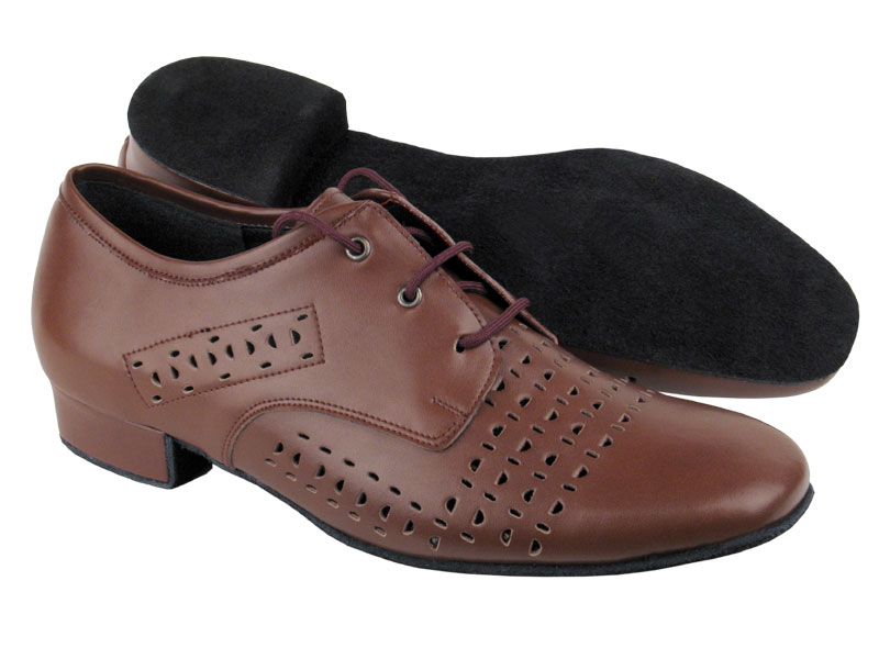 Men's Standard & Smooth - Very Fine Signature - ST38 - Dark Tan Leather
