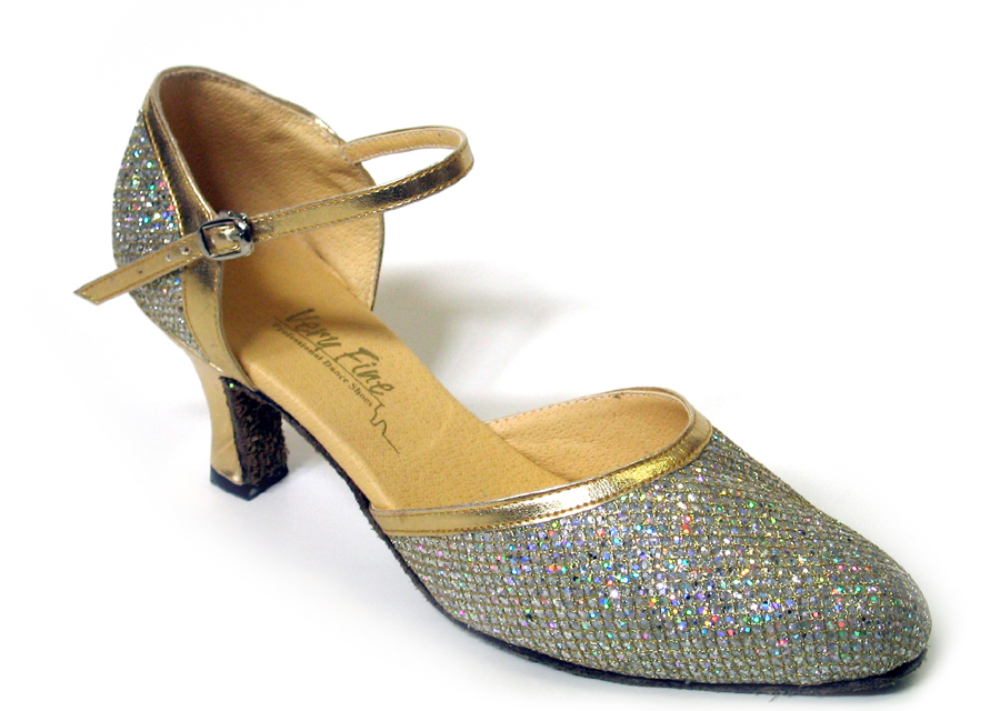 Ladies' Standard & Smooth - Very Fine Classic   - 9621 - Gold Sparklenet & Gold Trim