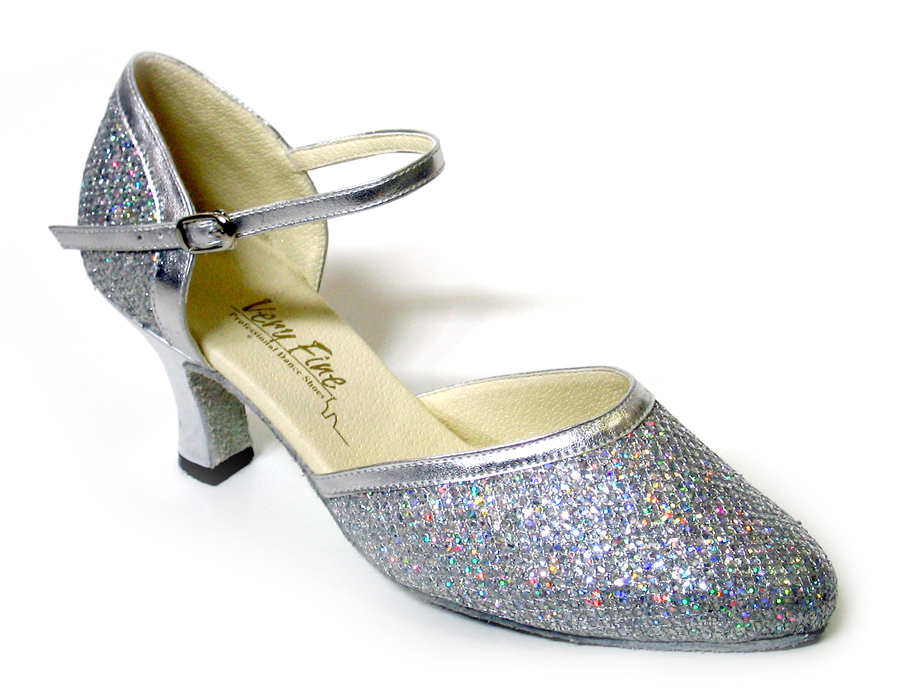 Ladies' Standard & Smooth - Very Fine Classic   - 9621 - Silver Sparklenet & Silver Trim