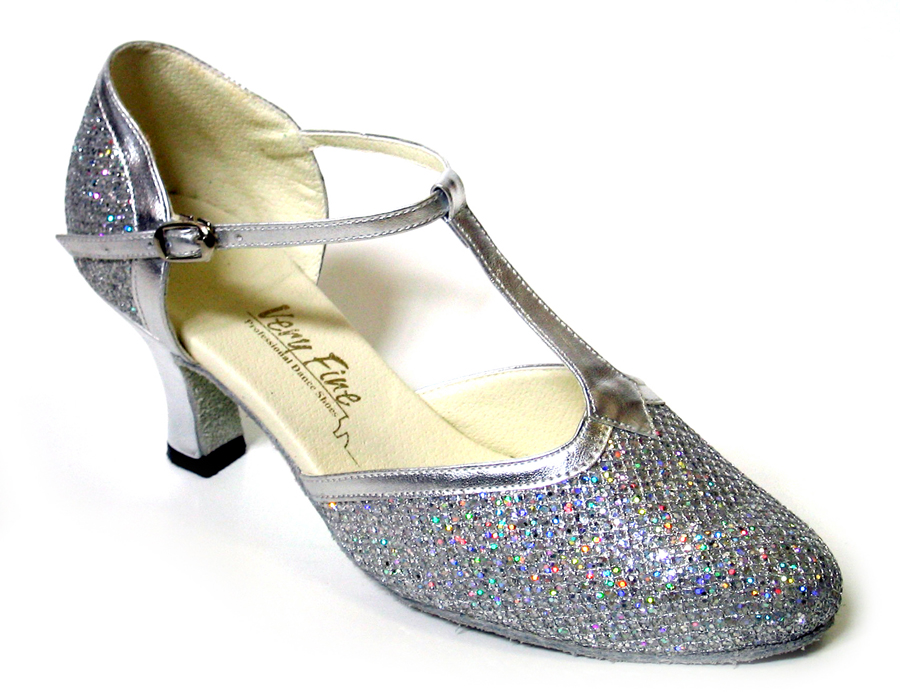 Ladies' Standard & Smooth - Very Fine Classic   - 9627 - Silver Sparklenet & Silver Trim