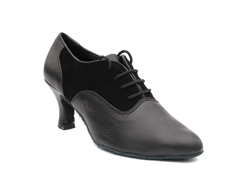 Ladies' Standard & Smooth - Very Fine Classic   - 1688 - Black Nubuck & Black Leather