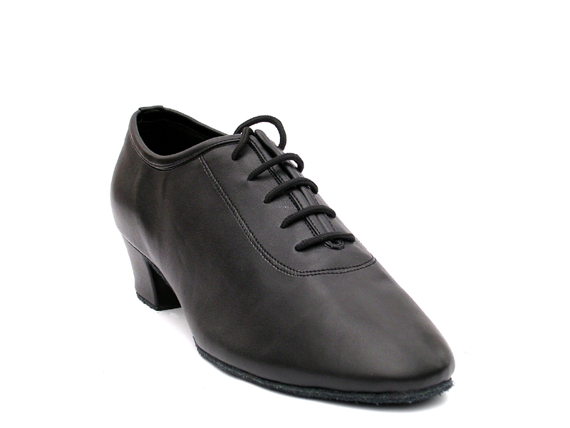 Men's Latin & Rhythm - Very Fine Classic - 2302 - Black Leather