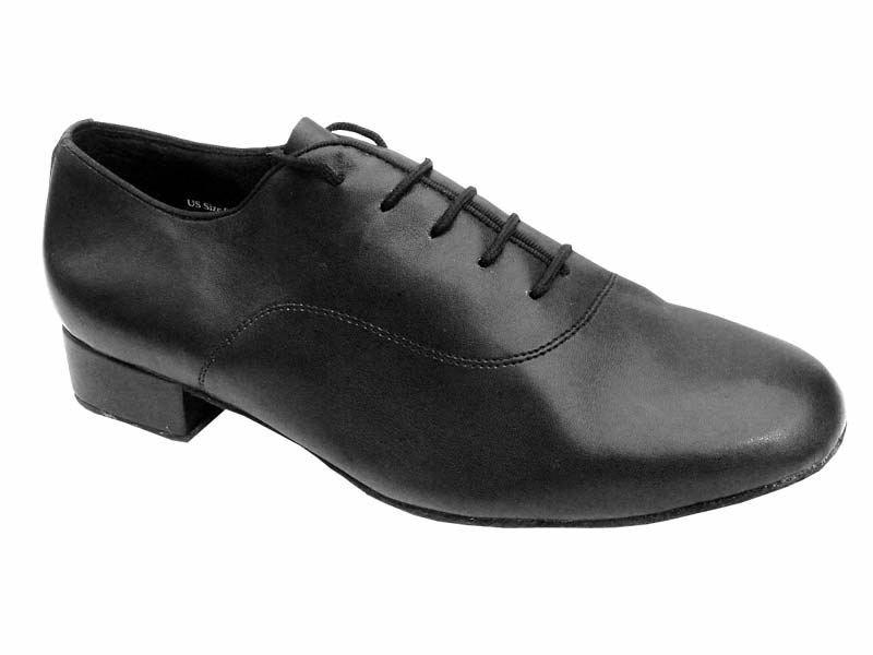 Men's Standard & Smooth - Very Fine Classic - 2503 - Black Leather